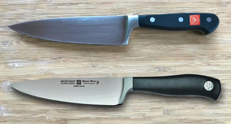 Wusthof vs Cangshan knife review