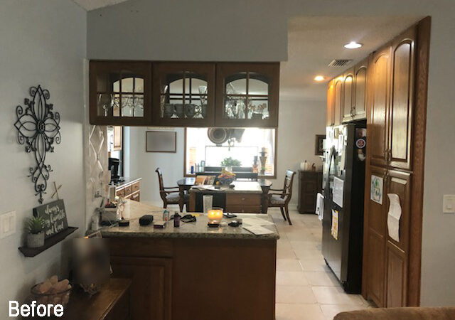 Kitchen of the Month Winner for New Cabinets for August