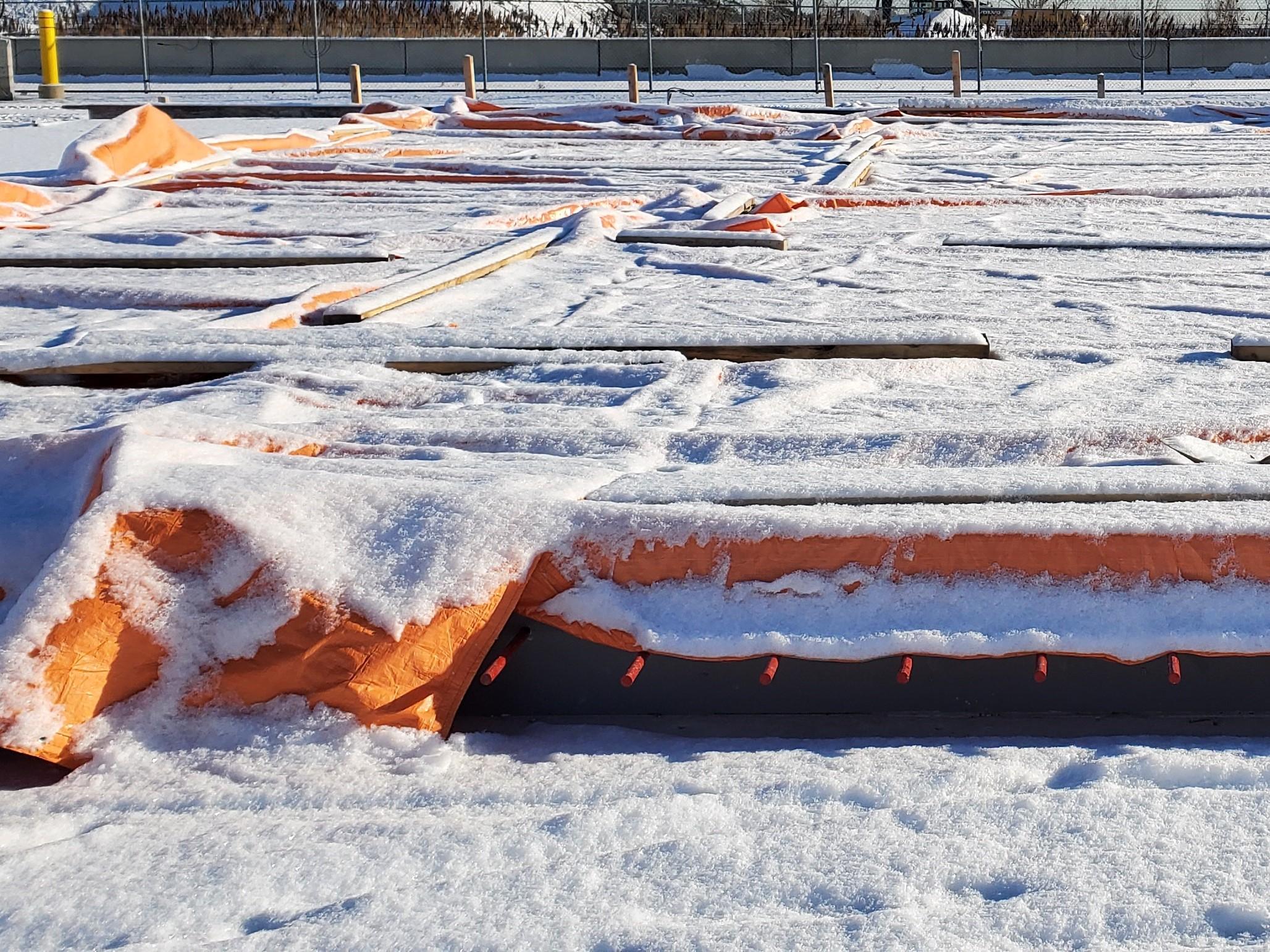 Precautions and Tips When Pouring Concrete in Winter