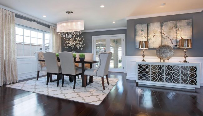 Gray Dining Room Design Ideas