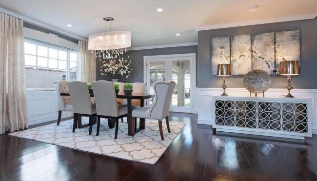 17 Marvelous Gray Dining Room Ideas