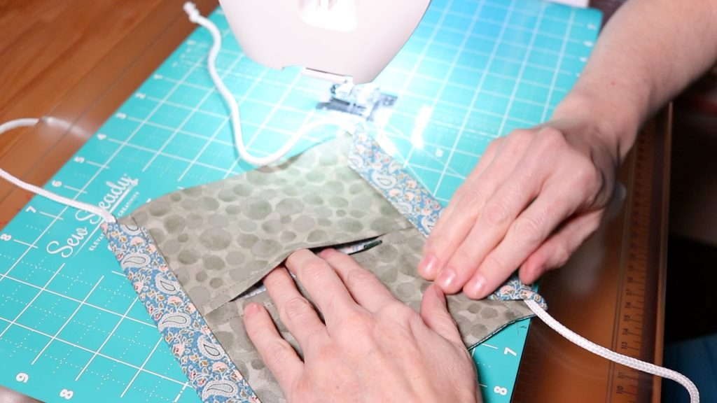 Sew to the Top Side with Pocket