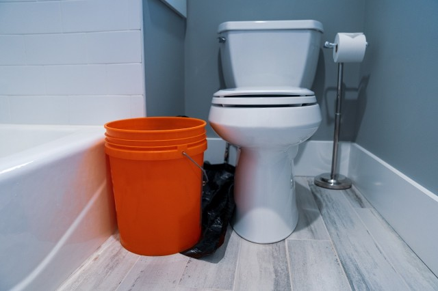 Drain Your Toilet Tank