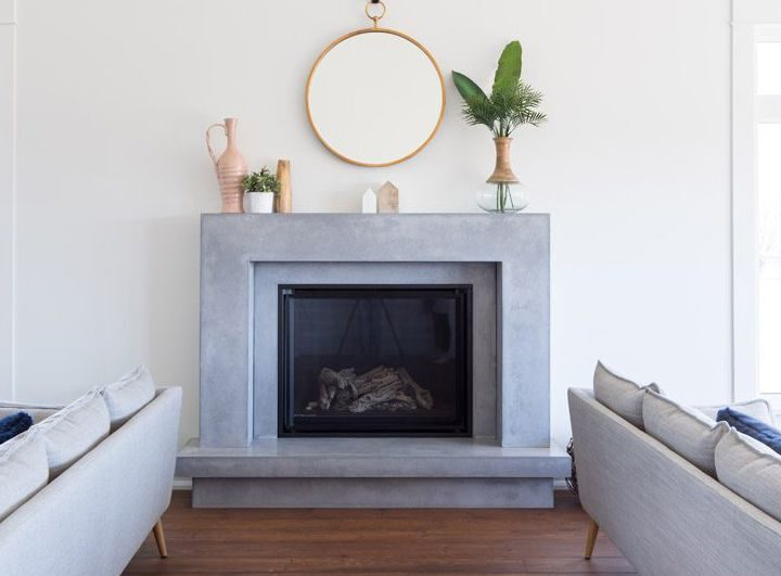 Stunning Stone Fireplace