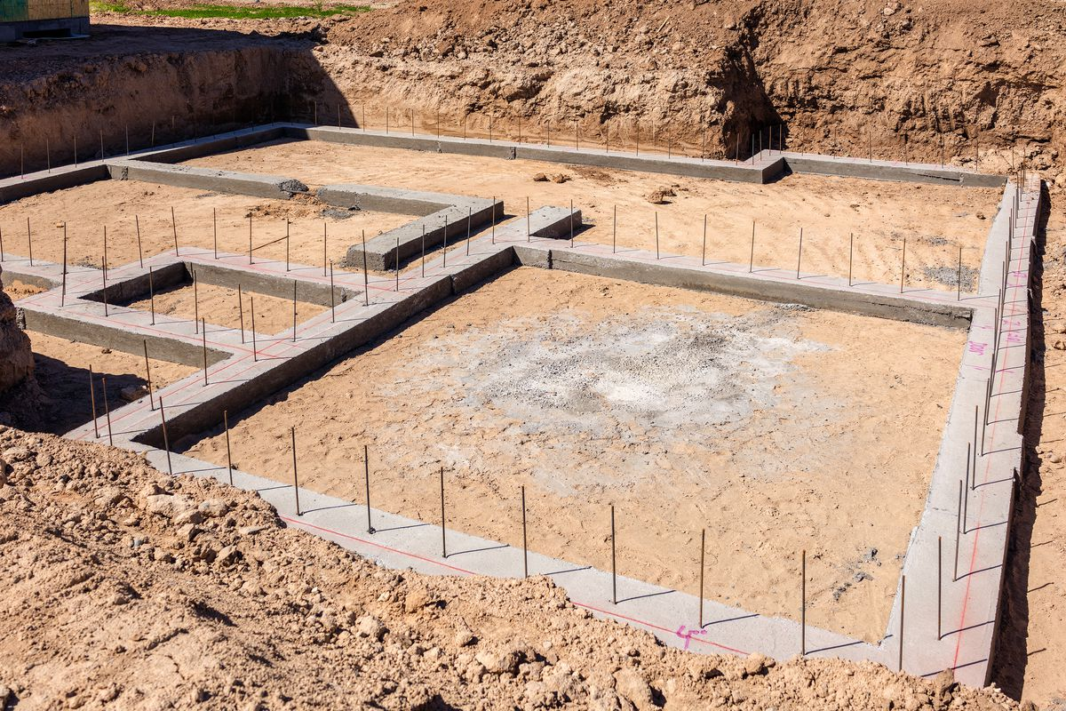 Prepare the Home Site and Pour Foundation
