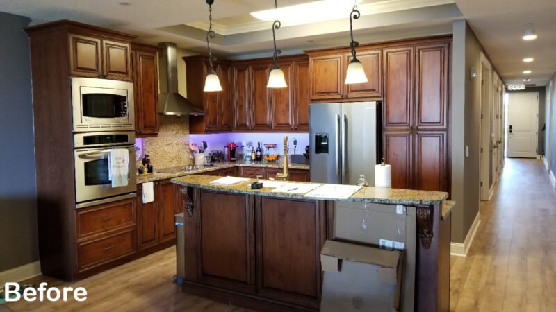 Kitchen of the Month Winner for Cabinet Refacing for September