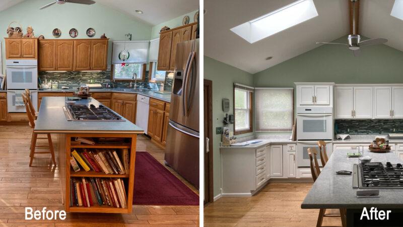 Spotlight Kitchens of September – Cabinet Refacing